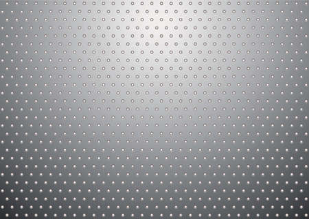 flat metal surface background with small white holes and light reflection Stock Photo - 6648337