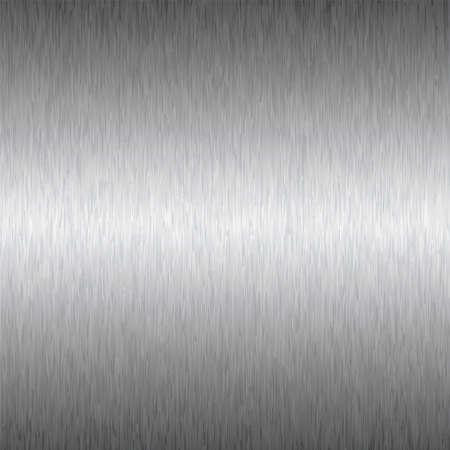 Abstract brushed silver metal background ideal wallpaper or desktop Stock Photo - 6826667