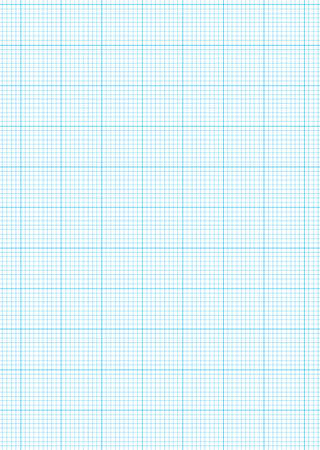 graph paper: Math concept with sheet of blue graph paper background