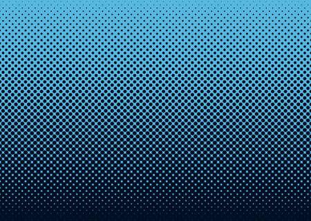 블루와 원활한 하프 톤 도트 패턴 배경