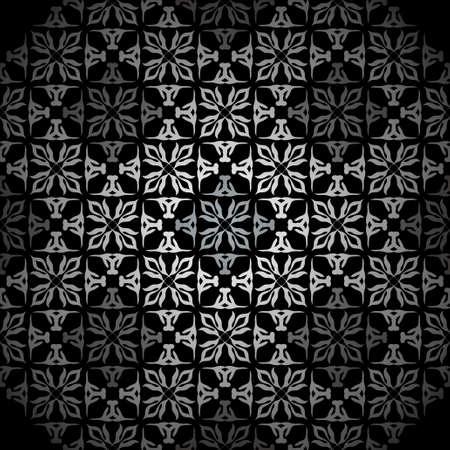 Silver seamless wallpaper tile background pattern wallpaper photo