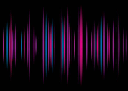 equaliser: Music equaliser inspire colorful background illustration with graph bars