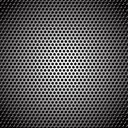steel mesh: Abstract metal background design pattern with circular concept Stock Photo