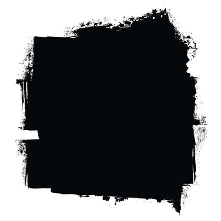 grunge black roller marks with ink effect background photo