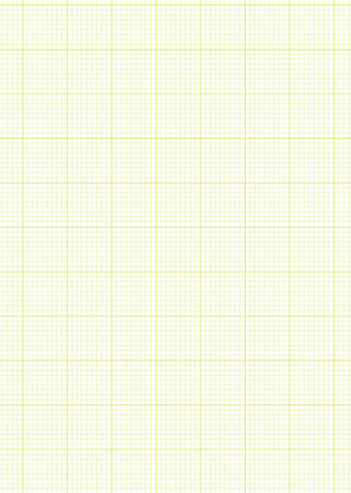 Green A4 grid or graph paper with white maths background Stock Photo - 8031170