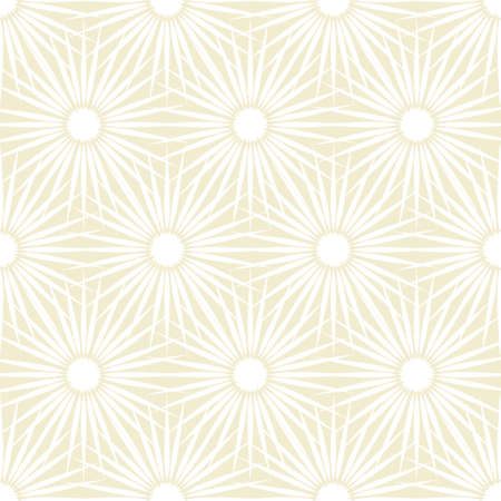 Abstract beige and white floral background with seamless pattern Stock Photo - 8109952