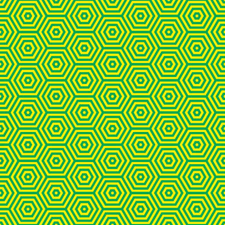 seventies: Green and yellow retro seventies inspired wallpaper pattern