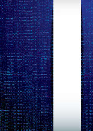 Abstract modern material background with blue copy space photo