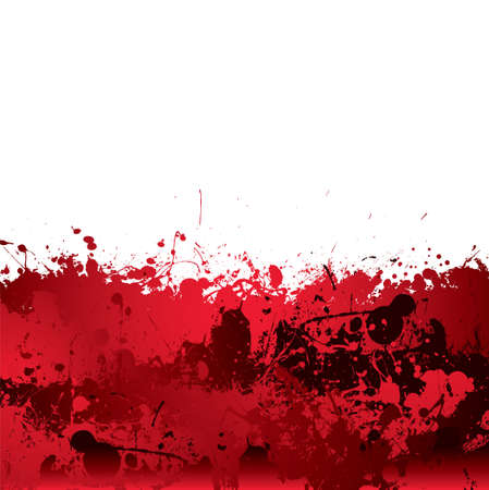 dribble: Red blood splatter background with dribble effect