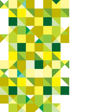 tricolour: Green and yellow presentation background with space for text