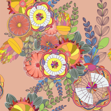 fabulous: Fabulous Floral seamless pattern
