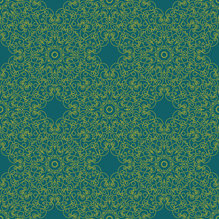 lace like: Abstract Seamless Pattern Like Lace. Vintage Ornament Pattern. Ethnic decorative elements for print and cloth, fabrics and canvas texture or any other kind of design. Illustration