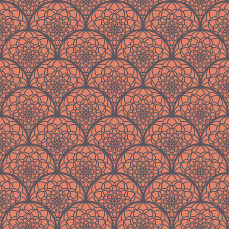 east indian: Abstract Seamless Pattern Like Lace. Vintage Ornament Pattern. Ethnic decorative elements for print and cloth, fabrics and canvas texture or any other kind of design. Illustration