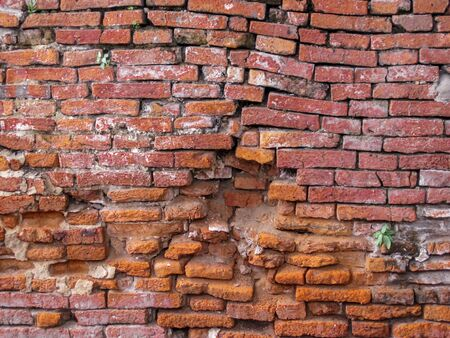 Red brick wall texture background. Surface texture masonry bright cleaned brickwork.                   Stock fotó