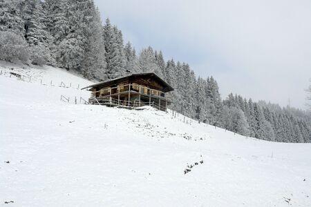 mountin: House on a Mountin in Austria