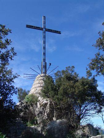 summit cross in mallorca