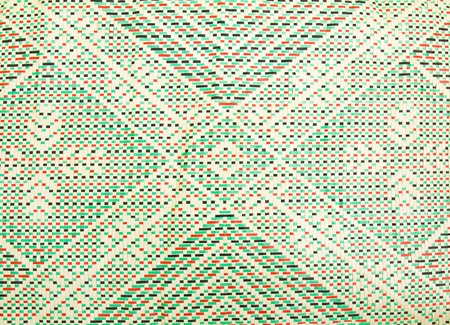 Details of mats woven from pandanus leaves. Stock Photo