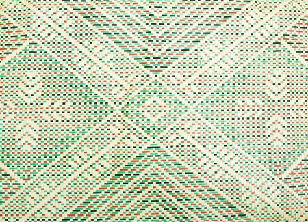 pandanus: Details of mats woven from pandanus leaves. Stock Photo