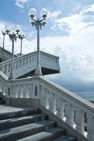 Part of the bridge in Phuket, Thailand Stock Photo