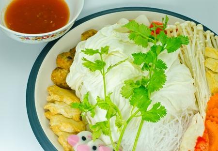 Sukiyaki  Japanese food for health. photo