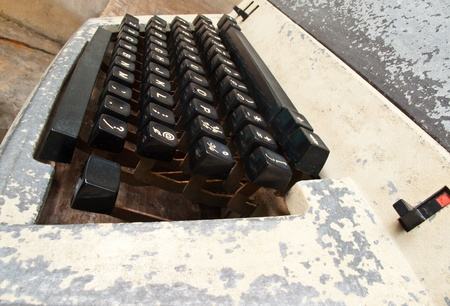 Old typewriter. Ideal for collectors. Stock Photo - 11013250