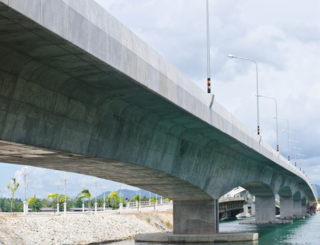 Part of the Sarasin Bridge, Phuket Thailand. Stock Photo - 11353499