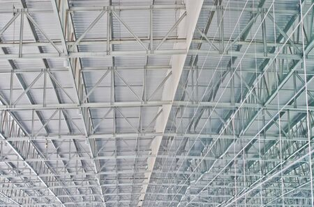 Steel roof construction in Thailand photo