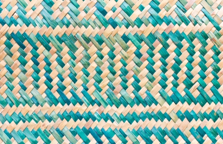 aslant: Patterns of weave bamboo in asia  Stock Photo