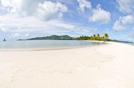 Beautiful beach on the island in the Andaman Sea  Stock Photo