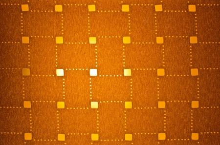 lampekap: Patronen op de lampenkap gemaakt van weefsel Stockfoto