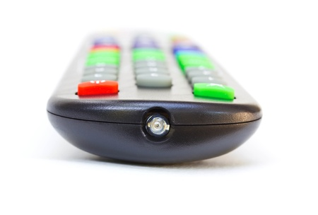 infrared: infrared button of new tv remote control Stock Photo