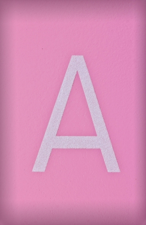 letter a z: Letter R of the alphabet on background
