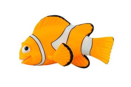 disney cartoon: Bangkok,Thailand - September 29, 2014: Marlin fish toy character from Finding Nemo movie from Disney Pixar animation studio.