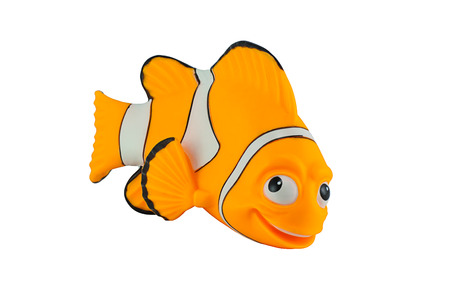 nemo: Bangkok,Thailand - September 29, 2014: Marlin fish toy character from Finding Nemo movie from Disney Pixar animation studio.