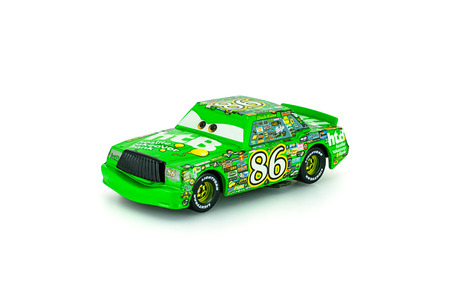 Bangkok,Thailand - January 22, 2014: Chick Hicks t main protagonist of the Disney Pixar feature film Cars. A diecast cars collcetion from mattel inc.