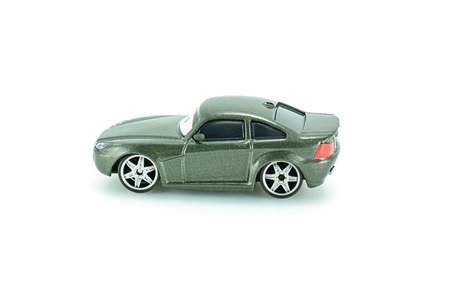 cutlass: Bangkok,Thailand - February 05, 2015: Bob Cutlass toy car a protagonist of the Disney Pixar feature film Cars. A diecast cars collcetion from mattel inc. Editorial