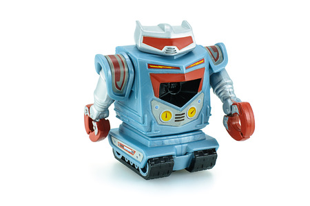 toy story: Bangkok,Thailand - February 24, 2015: Sparks robot toy character from Toy Story animation movie produce by Disney Pixar studio.