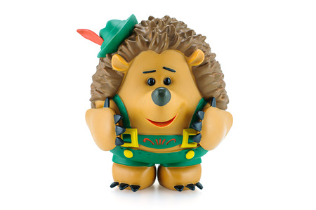 toy story: Bangkok,Thailand - March 1, 2015: Mr. Pricklepants figure toy character from Toy Story animation movie by Disney Pixar Studio.