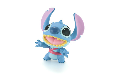 fictional character: Bangkok, Thailand - Apirl 22, 2015: Stitch figure toy a fictional character in the Lilo & Stitch film series and television series. Editorial