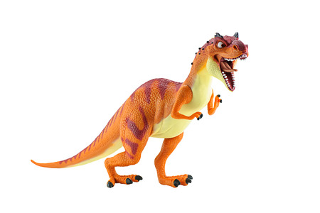ice age: Bangkok,Thailand - May 5, 2015: Momma Dino dinosarus rex figure toy character from Ice Age animation film by Twentieth Century Fox Animation.