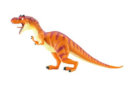 eiszeit: Bangkok, Thailand - 5. Mai 2015: Momma Dino dinosarus rex Figur Spielzeug Zeichen aus Ice Age Animationsfilm von Twentieth Century Fox Animation.
