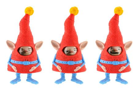 BangkokThailand 26 mai 2015: Groupe d'Elf caractère figurine de Rise of the film gardiens d'animation. Il y a jouets en plastique vendus dans le cadre des repas heureux de McDonald. Banque d'images - 68594121