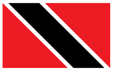 Trinidad and Tobago flag Illustration