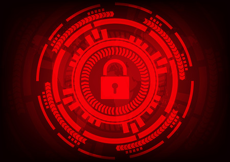 Abstract Malware Ransomware wannacry virus encrypted files with key and gear on wolrd map background. Vector illustration cybercrime and cyber security concept.