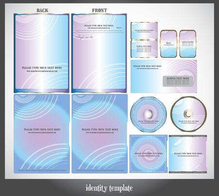 headed: set of identity template