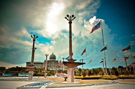 Perdana Putra at Putrajaya city, Kuala Lumpur, Malaysia Editorial