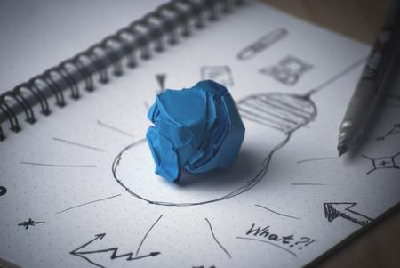 Brainstorming Idea Banco de Imagens