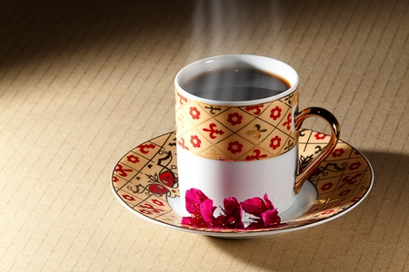 Hot Coffee for background or others purpose use Stock Photo - 9545869
