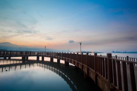 Tamsui Sunset, nuova Taipei, Taiwan