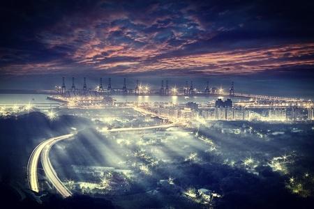 Taipei port Stock Photo
